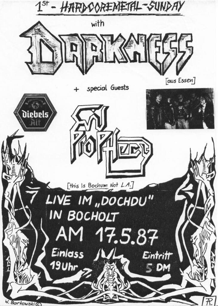 Darkness - Bocholt Live Squad